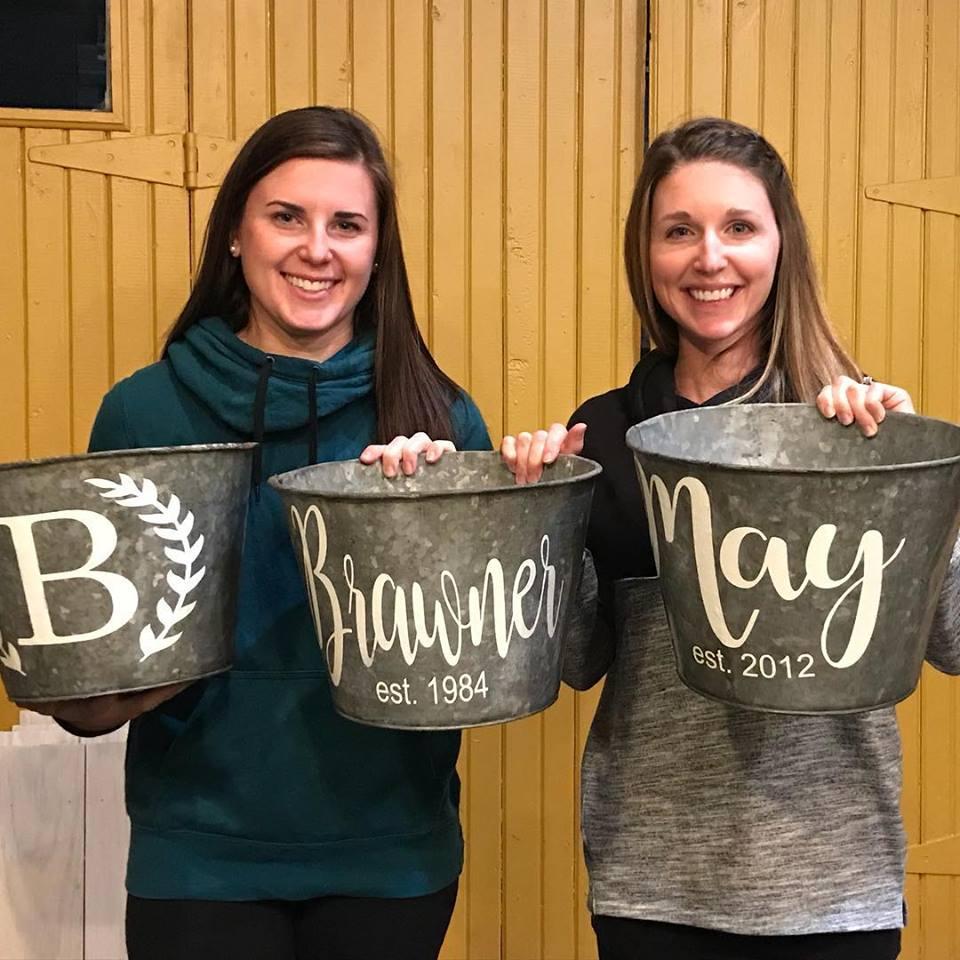 Bucket Painting Class