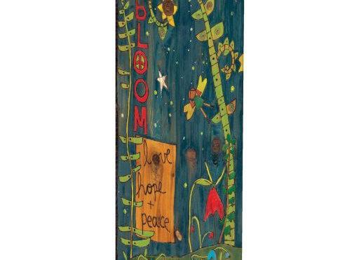 "Secret Garden 20"" Art Pole"