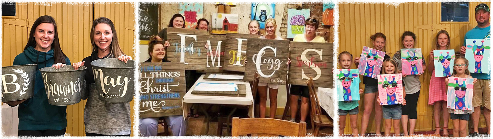 Sign Making Class