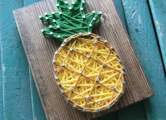 Pineapple Mini String Art Kit