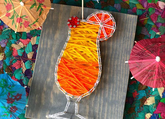 Cocktail Mini String Art Kit