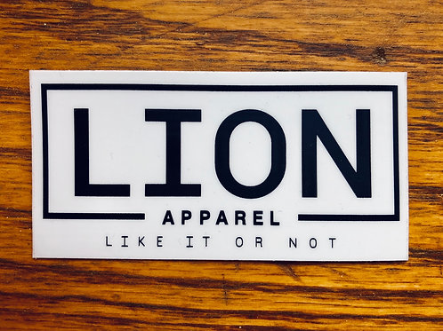 LION Apparel Sticker
