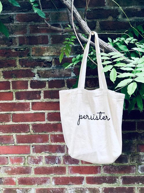 PERSISTER tote bag
