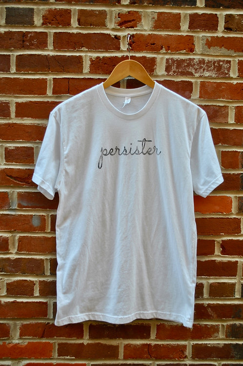 PERSISTER T-Shirts - White