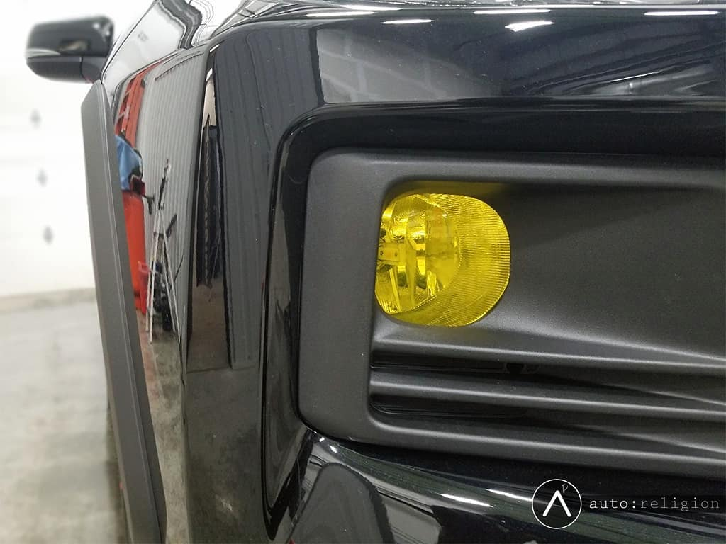 Yellow Fog Lamp Film
