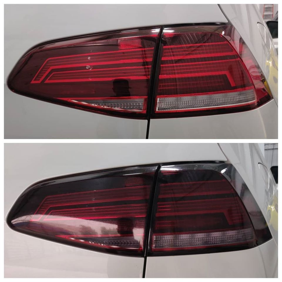 Tail Lamp Smoke Film