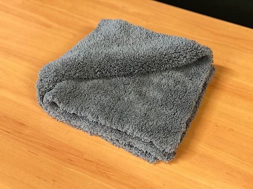 "Ultra Plush Edgeless Microfiber Towel - 500 GSM 16x16"""