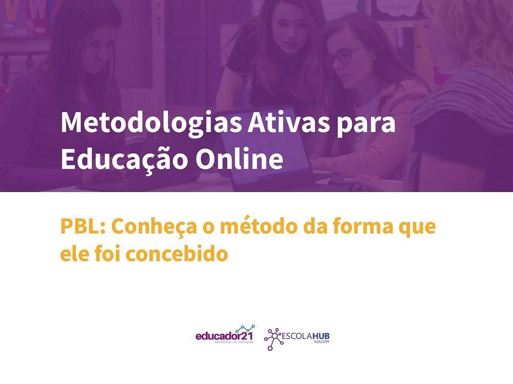 Capa do E-book PBL Hub Academy Educador21