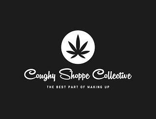 coughy shoppe white_logo_color_backgroun