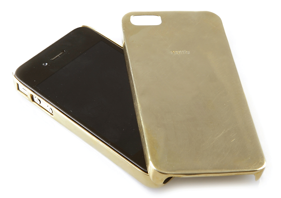 IPHONE 4 CAST BRASS COVER