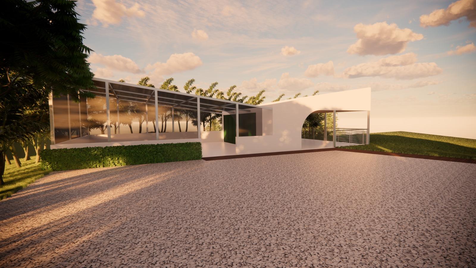 Arrival Pavilion & Greenhouse