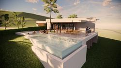 Main Residence Pool & Terrace