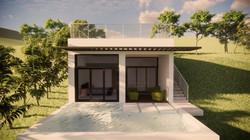 Rental Villa South Facade