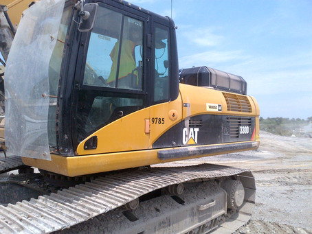 CAT 330 DL Hydraulic In-Line