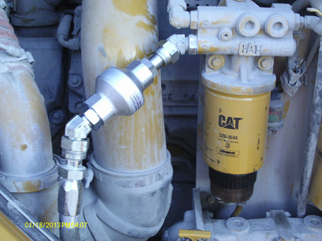 CAT 990 Magnetic Fuel Filtration