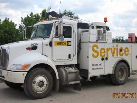 Service Truck Hydraulic System