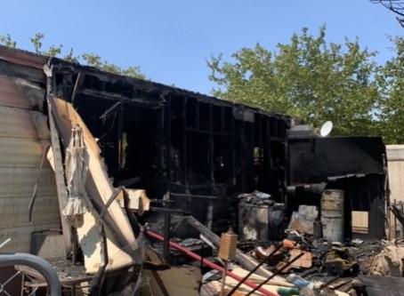Structure Fire In Kingman