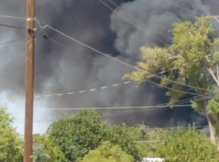 Homes And Vehicles Destroyed By Fire