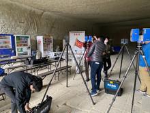 大谷町の地下空間「大谷資料館」にて3D計測をおこないました