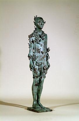 signor pianta, bronzescuptue, Mr plant,