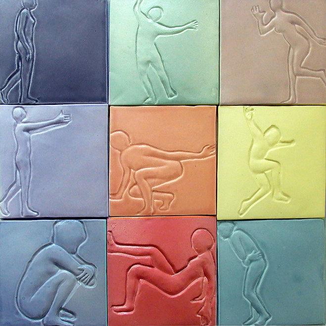porcelain, tiles