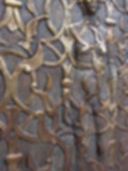 griglia, sandcasting, brass sculpture