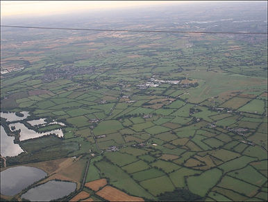 Leigh Wiltshire from hot air balloon
