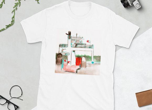 Drummond Island Ferry Short-Sleeve Unisex T-Shirt