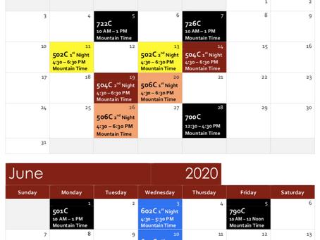 Online Professional Development - 9 Webinars in May/June 2020