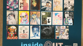 Inside Out: An Affirming Epiphany -- poetry collaboration with SOS ART