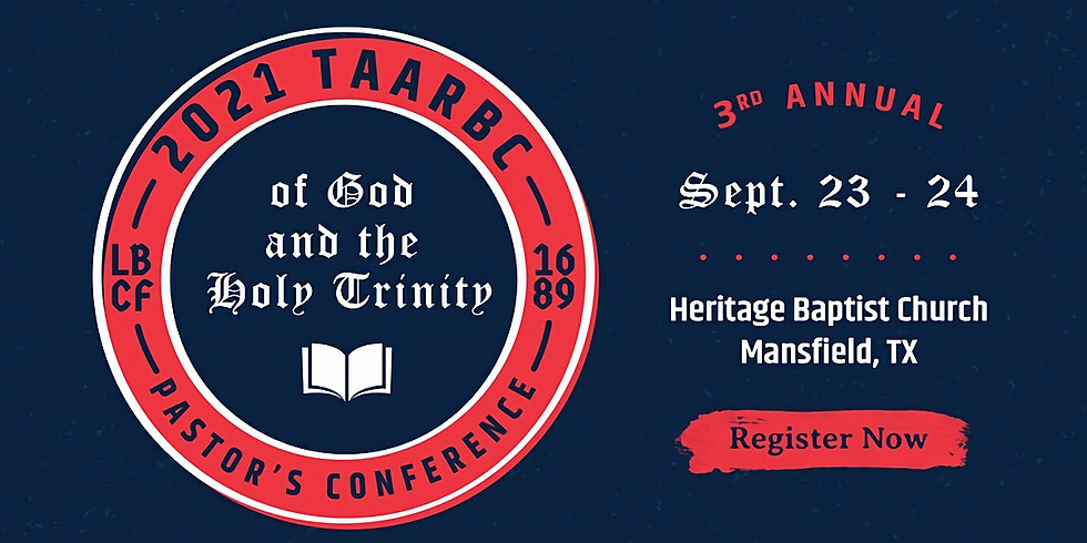 TAARBC Pastor's Conference