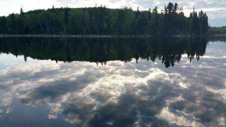 reflection clouds