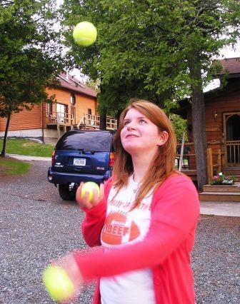 Juggling Anna