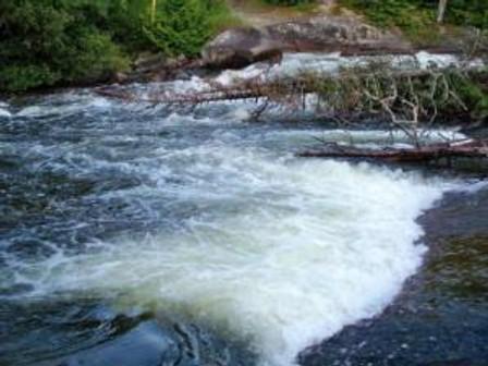 Chads beautiful water