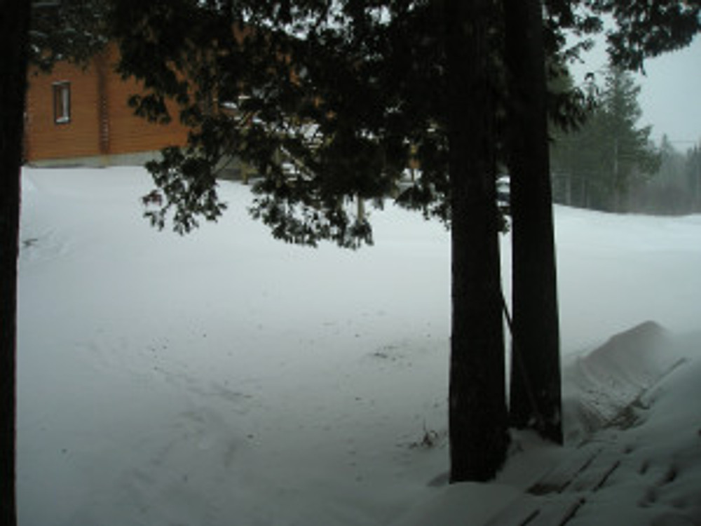 That's the corner of the Bear's Den.