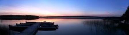 Chads panoramic sunset