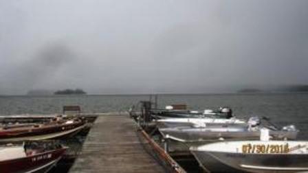 stormy dock