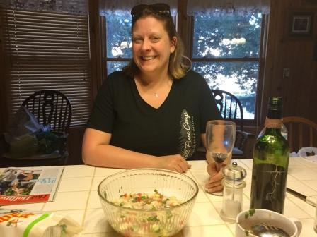 Jenny and ceviche