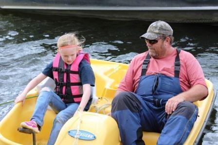 pedalboating
