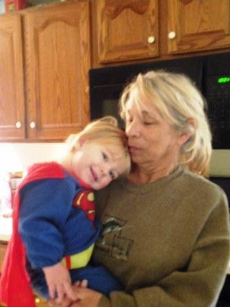 Gavin and grandma