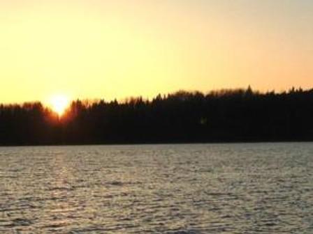 sun just setting