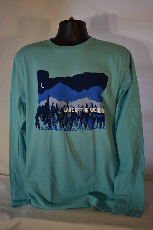 Oregon Western Landscape Long Sleeve