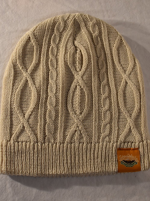Beanie Cable Knit Vintage