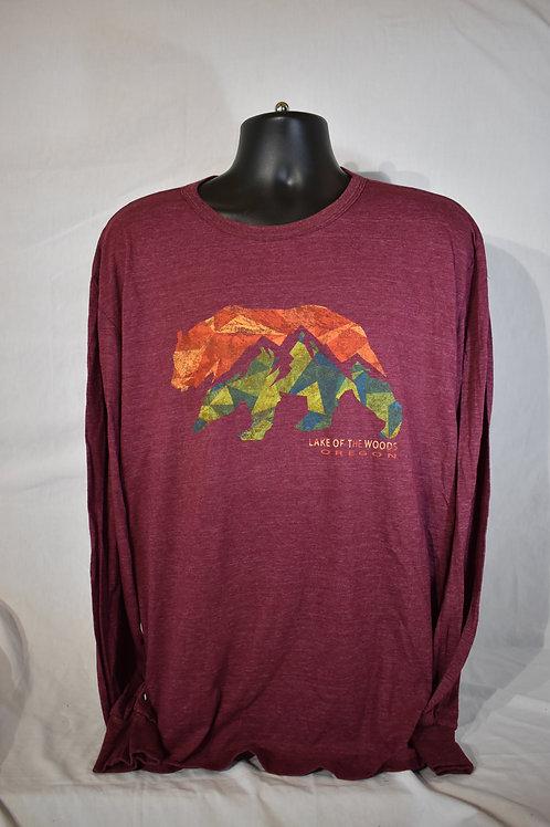 Longsleeve  Remnant Bear/Mountains  Shirt