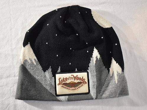 Mountain & Moon Beanie