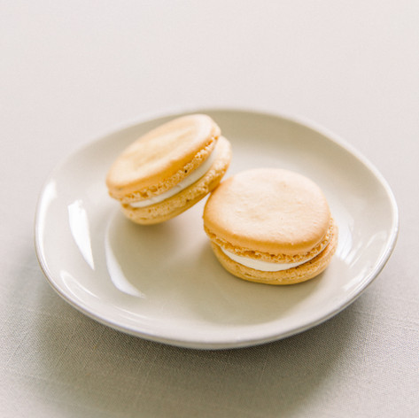 Champagne French Macarons