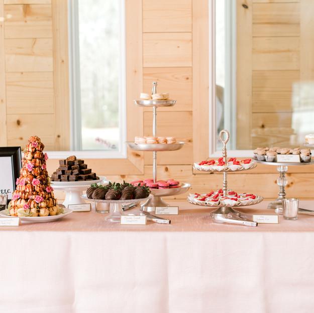 Walnut Hills Open House Dessert Table