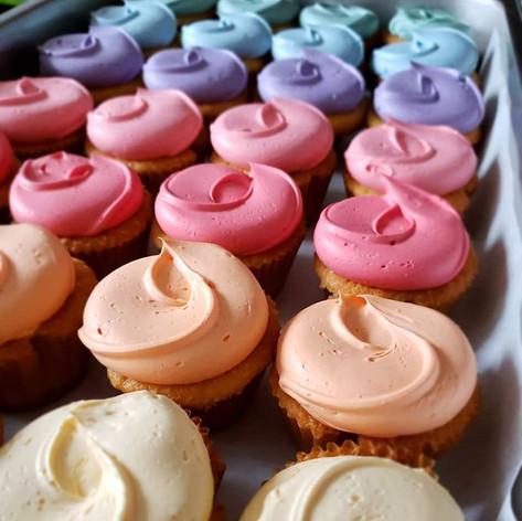 Painter's Palette Cupcakes
