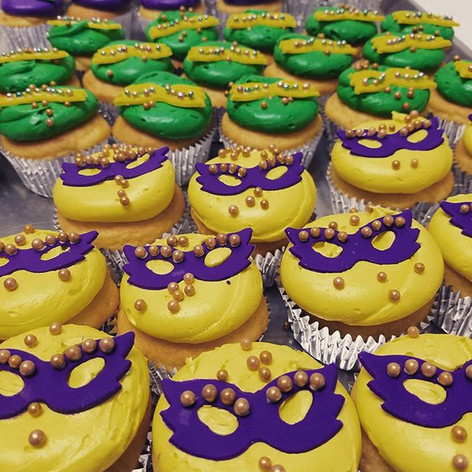 Fat Tuesday Cupcakes!