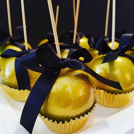 Golden Candy Apples